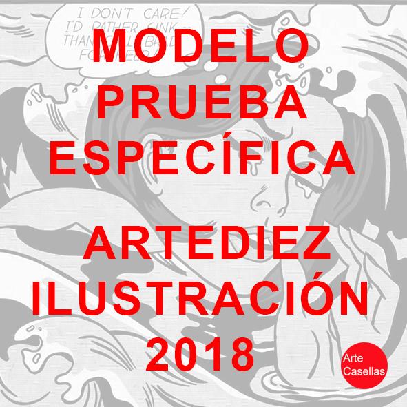 Modelo prueba específica Artediez Ilustración 2018