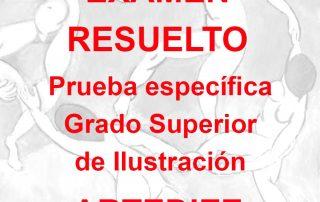Arte-Casellas.-Examen-resuelto.-Preparación.-Prueba-específica.-Ilustracion-Artediez.-clases-online